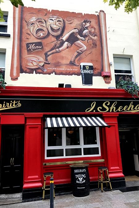 Sheehans, Chatham St. Dublin
